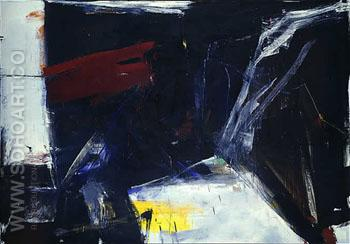 C and O 1958 - Franz Kline reproduction oil painting