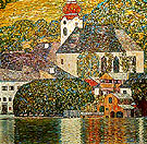 Church in Unterach 1916 - Gustav Klimt reproduction oil painting
