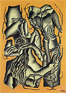 Fernand Leger Tree Trunks 1931