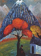 Red Tree 1910 - Gabriele Munter