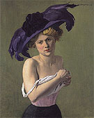 Felix Vallotton The Purple Hat 1907