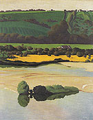 Felix Vallotton An Evening on the Loire 1923