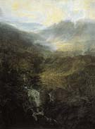 Joseph Mallord William Turner Morning amongst the Coniston Fells Cumberland 1798