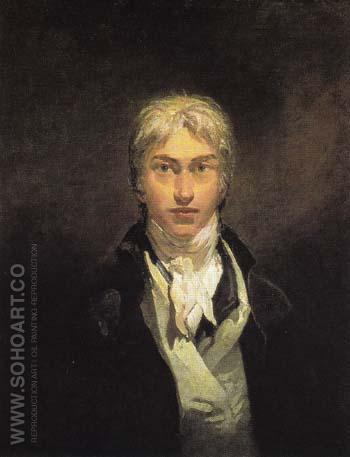 Self Portrait c1799 - Joseph Mallord William Turner reproduction oil painting