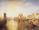 Joseph Mallord William Turner Harbour of Dieppe 1825