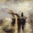 Peace Burial at Sea 1842 - Joseph Mallord William Turner reproduction oil painting