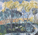 Autumn Landscape 1905 - Natalia Gontcharova