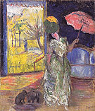 Lady with a Parasol 1905 - Natalia Gontcharova
