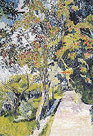 Rowan Tree Panino near Vyazma 1906 - Natalia Gontcharova