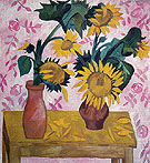 Sunflowers c1908 - Natalia Gontcharova