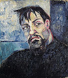 Portrait of the Artist Pyotr Lvov 1908 - Natalia Gontcharova