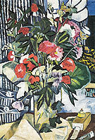 Bouquet and Container of Paints 1909 - Natalia Gontcharova