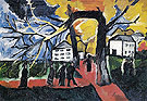 Natalia Gontcharova Autumn Park 1909