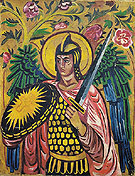 Natalia Gontcharova Archangel Gabriel c1909