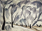Natalia Gontcharova Hoar Frost c1910