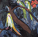 Natalia Gontcharova Parrots 1910