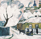 Moscow Winter c1910 - Natalia Gontcharova