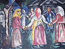 Natalia Gontcharova Reel 1910