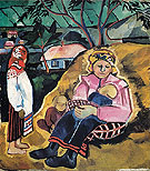 Natalia Gontcharova Mother 1910