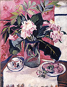 Natalia Gontcharova Still Life with Peonies 1910