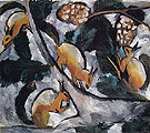 Natalia Gontcharova Squirrels 1910
