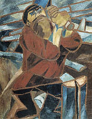 Natalia Gontcharova Wood Slicer 1910