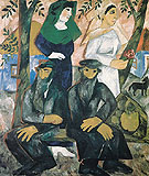 Natalia Gontcharova Jews Shabbat 1911