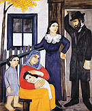 Natalia Gontcharova Jewish Family 1912