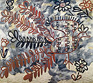 Natalia Gontcharova Peacock Russian Embroidery Style 1910