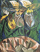 Natalia Gontcharova Orchids 1913