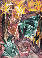 Natalia Gontcharova Rayonist Lilies 1913