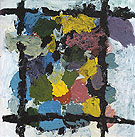 George Baselitz Blonde One Another Place 1992