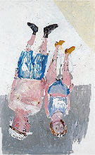 George Baselitz Recollection of Brussels Laces 2003
