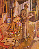 In My Studio 1924 - Arthur Lismer