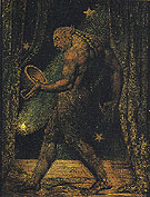 The Ghost of a Flea c1819 - William Blake reproduction oil painting
