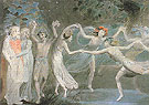 Oberon Titania and Puck with Fairies Dancing c1785 - William Blake