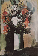 Vase with Flowers - Maurice de Vlaminck