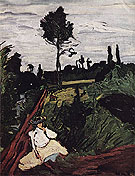 Woman in a Field 1905 - Maurice de Vlaminck