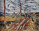 The Road 1907 - Maurice de Vlaminck