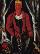 Young Hunter Hearing Call to Arms 1939 - Marsden Hartley