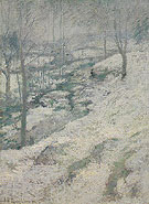 Frozen Brook c1893 - John Henry Twachtman