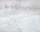 Winter c1890 - John Henry Twachtman