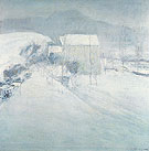 Snow c1895 - John Henry Twachtman