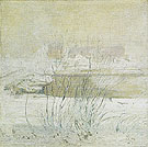 Bridge in Winter c1901 - John Henry Twachtman