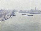Albert Marquet Reproduction oil painting of Brume a Stockholm 1938