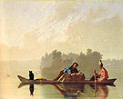 Fur Traders Descending the Missouri 1845 - George Caleb Bingham