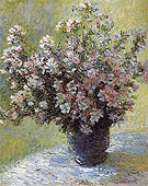 Claude Monet Vase of Flowers c1881