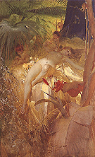 Anders Zorn Karleksnymf Love Nymph 1885