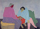 Checker Players 1943 - Milton Avery