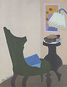 Milton Avery Green Chair 1944